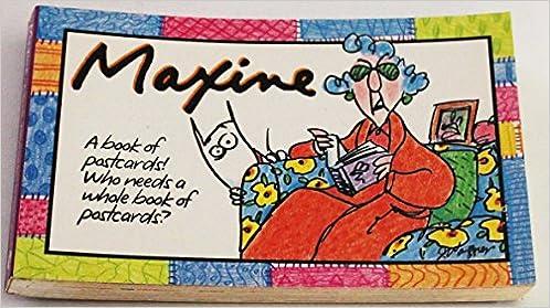 Maxine postcard book shoebox greetings 9780836225082 amazon maxine postcard book shoebox greetings 9780836225082 amazon books m4hsunfo