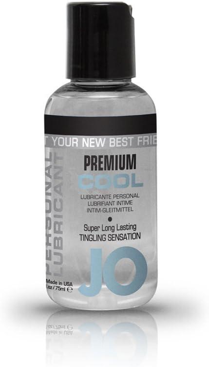 JO Premium Silicone Lubricant - Cooling ( 4 oz )