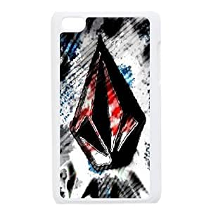 Classic Case Volcom pattern design For Ipod Touch 4 Phone Case