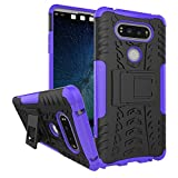 Image of LG V20 Case, Asstar LG V20 Case Cover, Heavy Duty Dual Layers Rugged Hard Back Shell With Kickstand Durable Anti-Slip Protective Case for LG V20 (2016) (Purple)