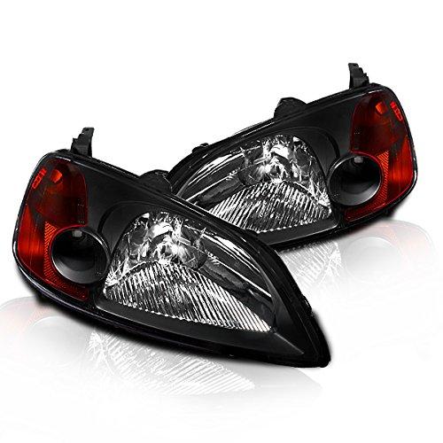03 honda civic si black headlight - 1