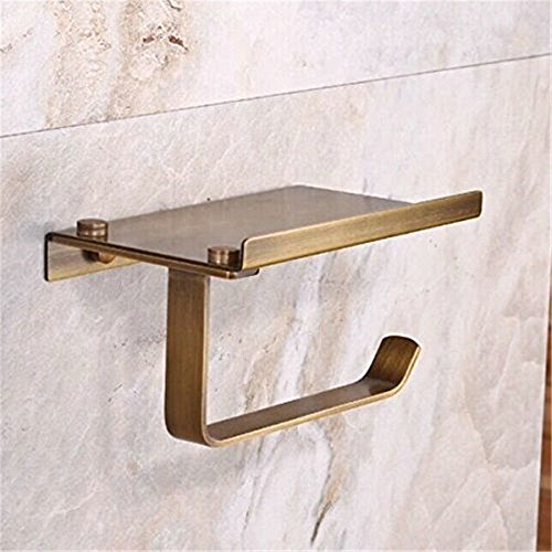 Leyden tm creative multifunction antique brass toilet Creative toilet paper holder
