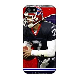 AnnaDubois Iphone 5/5s Best Cell-phone Hard Cover Allow Personal Design Attractive Buffalo Bills Series [mMJ15981Gqao]