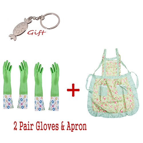 long-sleeve-latex-kitchen-wash-dishes-dishwashing-gloves-cleaning-kit-with-apron-keep-warm-glovesthi