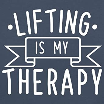 Dressdown Lifting is My Therapy 8 Colours Baby//Toddler T-Shirt Ages 3-24 Months