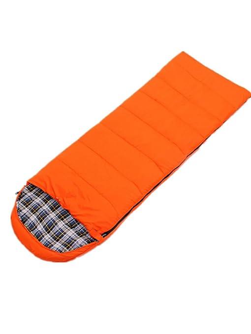 DZW ultra-ligero envolvente camping al aire libre saco de dormir de invierno flanela caliente
