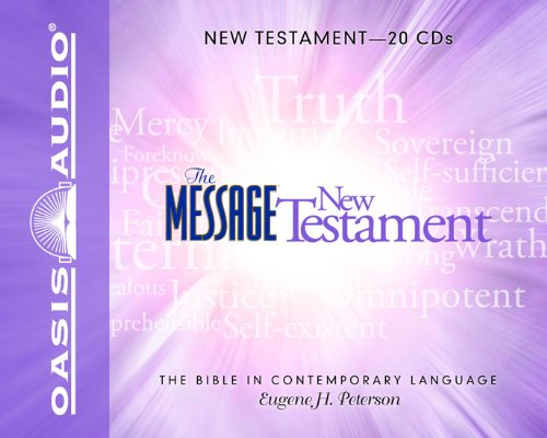 The Message Bible: New Testament (Message Mp3 The)