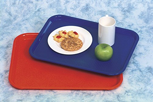 (Vollrath Fast Food Tray - 14 x 18 - Red)