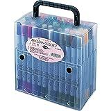 Kuretake Zig Twin Tip Marker Clean Color II, 60 Color Set (TC-6600/60V)