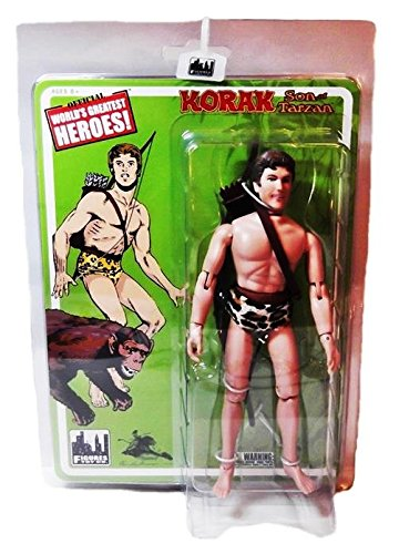 KORAK Retro 8-Inch Tarzan Series 1 ACTION FIGURE