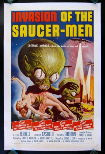 Invasion of the Saucermen Movie Poster