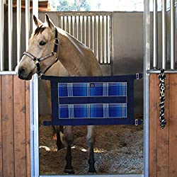 Kensington Stall Guard for Horses - Aisle Guard to Secure Horses - Made of Textilene - w/Adjustable Strap and Complete Hardware - 34 1/2 inches x 12