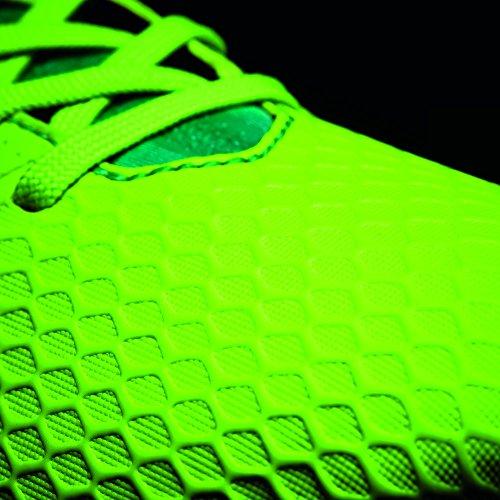 Adidas Ace 17.3 Fg J, pour les Chaussures de Formation de Football Mixte Enfant, Vert (Versol/Negbas/Verbas), 37 EU