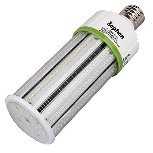 Dephen 60W LED Corn Light Bulb, Mogul E39 led Bulbs, 5700K Led Corn Bulb, 8100 Lumens Led Corn Lights Equivalent of 175W to 250W Metal Halide Bulb HID HPS Bulb for Garage Warehouse High Bay Workshop by dephen