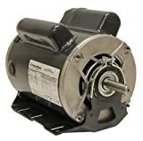 Marathon C1160 Fan and Blower Motor, Single Phase Capacitor Start, 1 1/2 hp, 1725 rpm, 115/208-230V, 16.4/8.4-8.2 amp