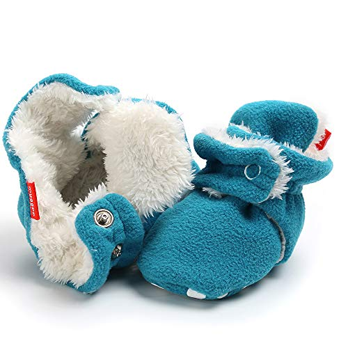 Tutoo Unisex Baby Shoes Boys Girls Slippers Newborn Infant Cotton Booties Soft Anti-Slip Sole