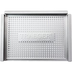 Traeger BAC273 Stainless Steel Grill Basket by legendary Traeger