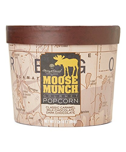 Harry & David Moose Munch Gourmet Popcorn 24 Oz Assortment Drum by Harry & David