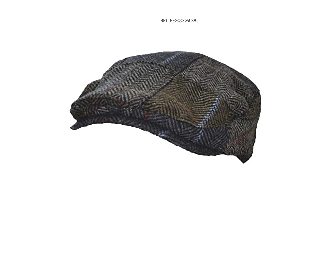 1e8902055 Daniel Cremieux Men Madras Patch Plaid Driver Hat Vintage Inspired ...