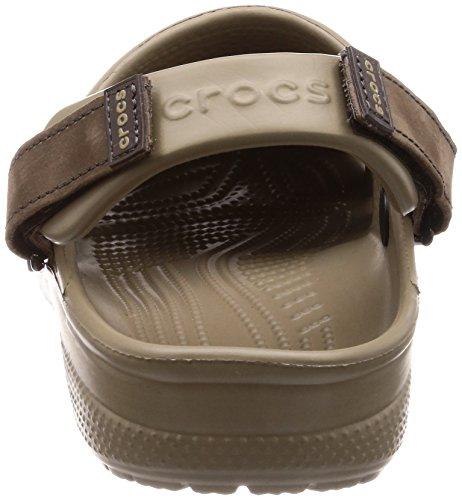 Crocs Mens Yukon Vista Clog Espresso / Kaki