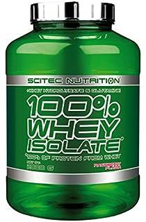 c1c4459c1 Scitec Nutrition 100% Whey Isolate Suplemento Nutricional de Proteinas con  Sabor de Frambuesa
