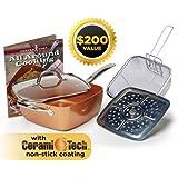 Amazon Com Copper Chef Xl 11 Quot Casserole 5 Pc Set