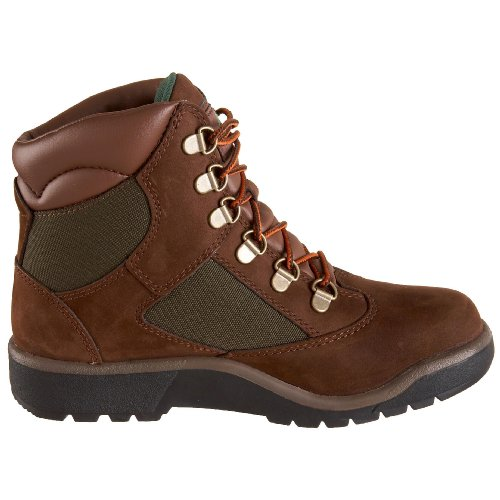 and Inch Field Brown Fabric 5 US Leather 6 Timberland 6 Boot Youth gpwqORa