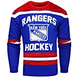 FOCO New York Rangers Ugly Glow In The Dark Sweater - Mens - Mens Medium