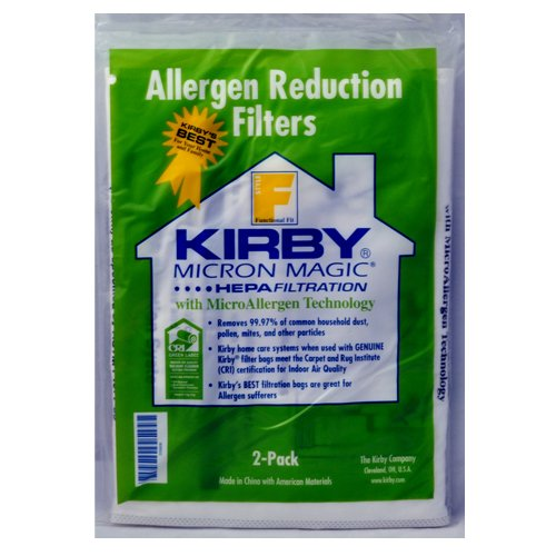 Kirby Style F Allergen Reduction Bags 2 per Pack 205811