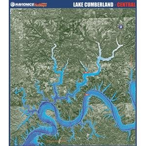 Navionics Paper Map: Lake Cumberland - Central (Navionics Paper Map)
