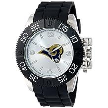 Game Time Men's NFL-BEA-STL Beast St. Louis Rams Round Analog Watch