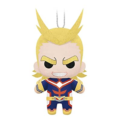 My Hero Academia Mascot Plush Keychain - All Might: Toys & Games
