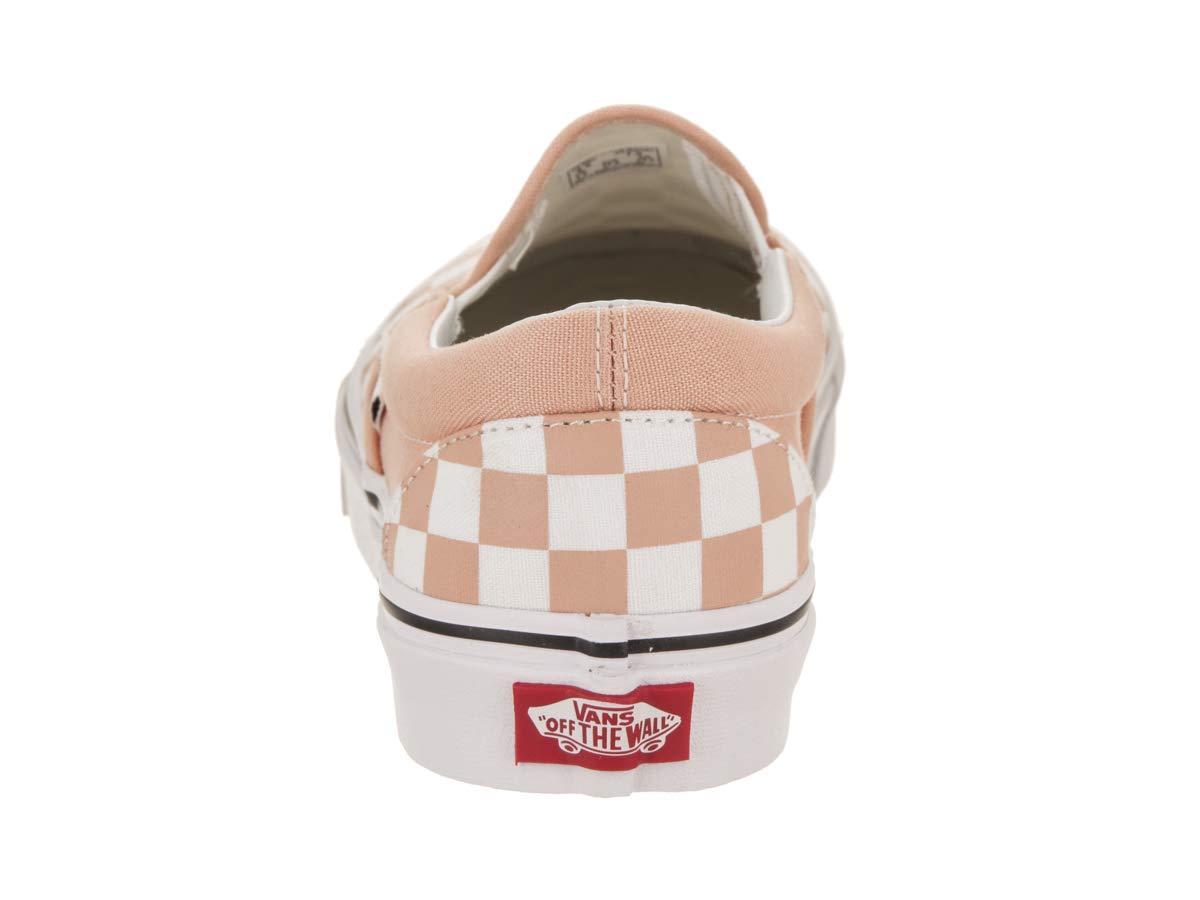 Vans Slip-on Damen Classic Slip-on Vans Sneaker, Einheitsgröße Orange Weiß 41cbc3