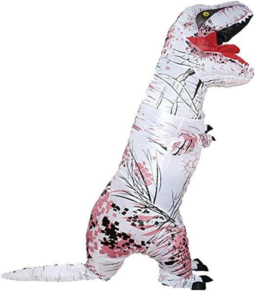 Foru-1 Disfraz de Dinosaurio Inflable para Adultos, Traje de ...