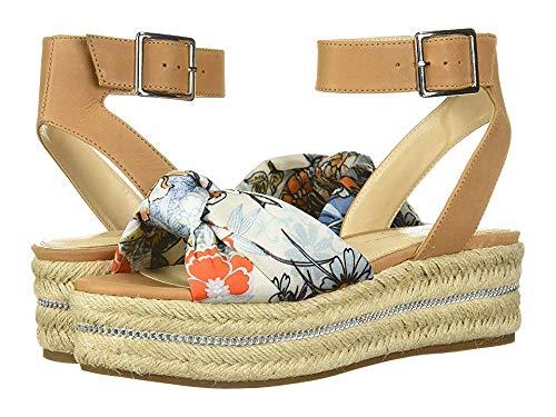 Jessica Simpson Women's APRILLE Wedge Sandal Blue Multi 7.5 M US