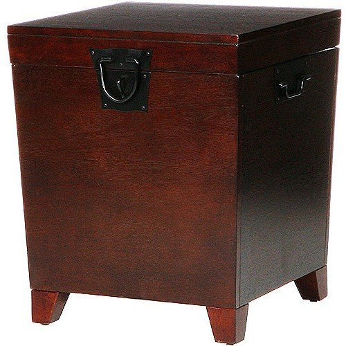 Pyramid Trunk End Table + Expert Guide