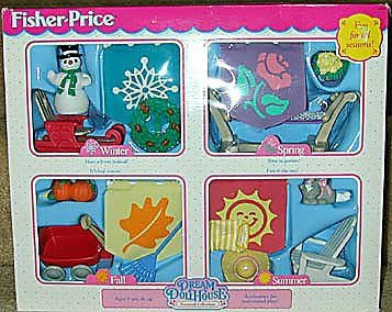Fisher-price Dream Dollhouse Seasonal Decorating Set