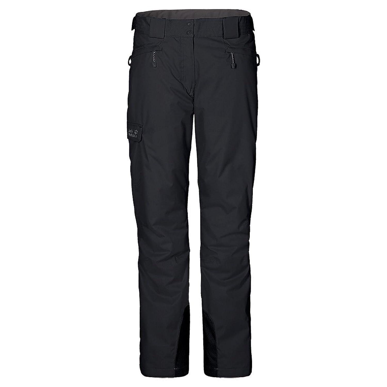 Jack Wolfskin W Snow Mountain Texapore Pants - Black - 38 - Atmungsaktive wasserdichte Damen Skihose