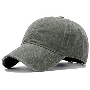 HH HOFNEN Unisex Twill Cotton Baseball Cap Vintage Adjustable Dad Hat