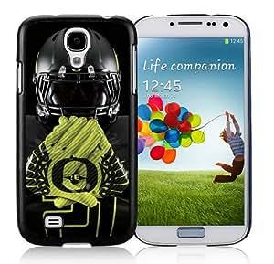 NCAA Oregon Ducks Black Durable Hard Shell Samsung Galaxy S4 I9500 Phone Case