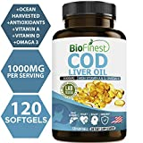 Best Cod Liver Oil Capsules - Biofinest Cod Liver Oil Capsules 1000 mg Review
