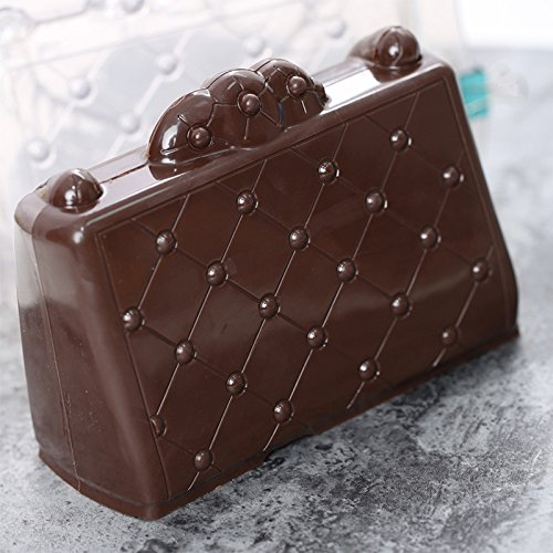 CTGVH Molde de pvc 3d forma de zapato de decoración de pasteles de chocolate molde pasta de azúcar decoración de policarbonato para el hogar Hornear pastel ...