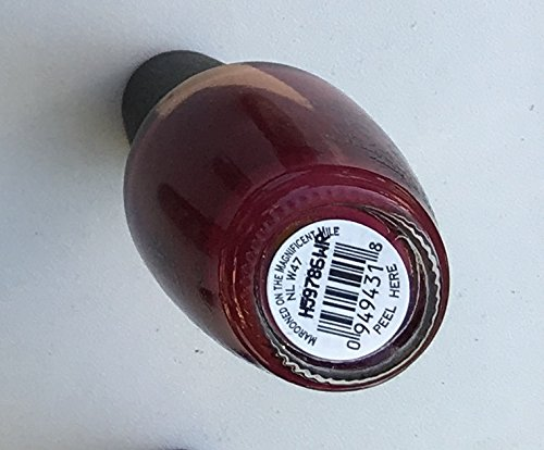MAROONED ON THE MAGNIFICENT MILE NL W47 NAIL POLISH LACQUER .5oz - 1 Bottle.