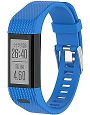 XIHAMA Correa Compatible with Garmin Vivosmart HR+, Bracelet Silicona Ajustable para Fitness Tracker con Destornillador para Vivosmart HR Plus