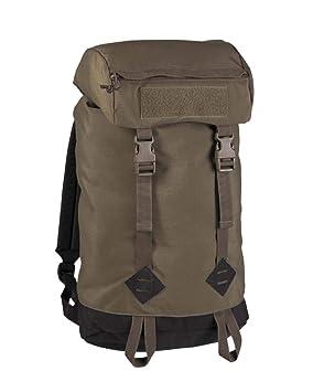 Mil-Tec - Mochila para Caminar, Color Verde Oliva, tamaño 20 litros, Volumen 20.0liters: Amazon.es: Deportes y aire libre