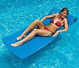 74'' Water Sports Sofskin Blue Floating Swimming Pool Mattress