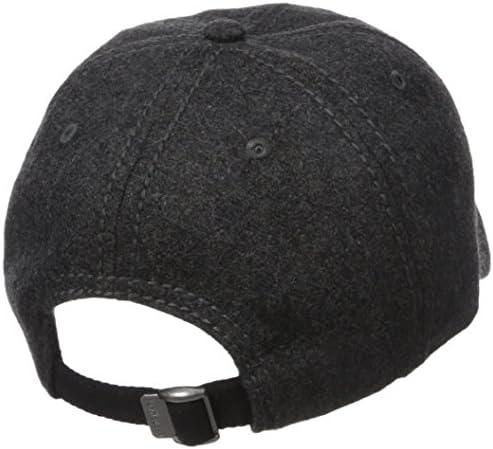 Van Heusen Wool Mens Baseball Cap Adjustable