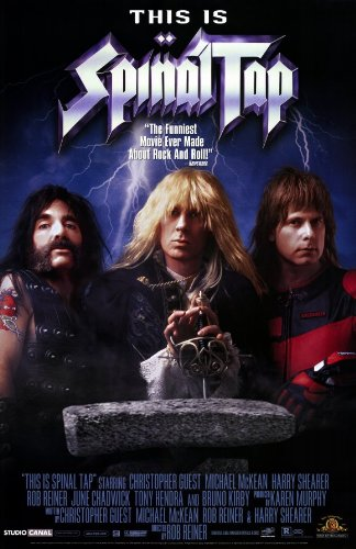 Image result for this is spinal tap poster