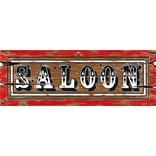 No Costumes Sign (Saloon Sign Party Accessory (1 count))
