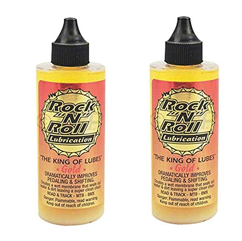 Rock N Roll 135816 Gold Chain Lubricant, 4-Ounce